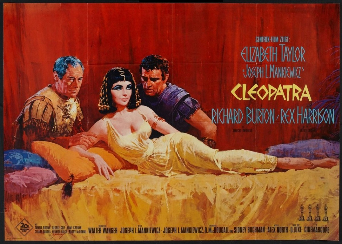 Cleopatra (1963) German poster