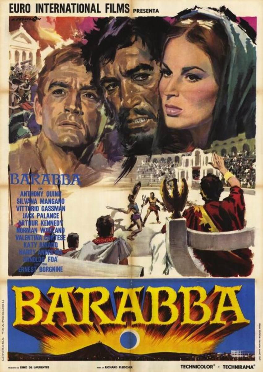 Barabbas (1962) Italian poster