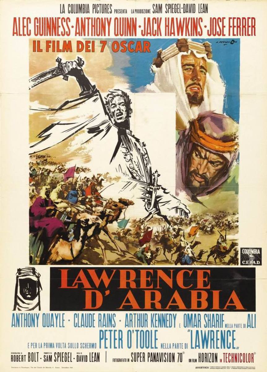 Lawrence of Arabia (1962) Italian poster