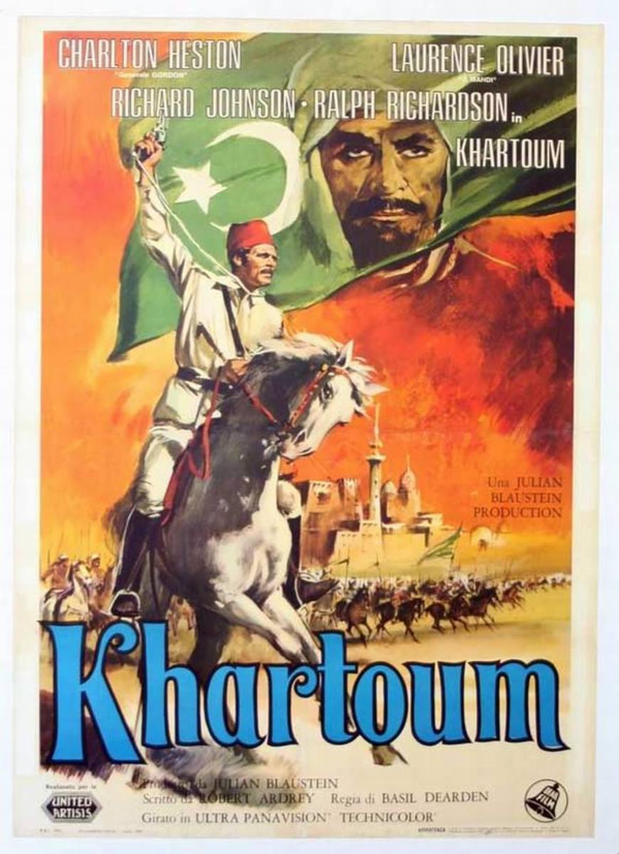 Khartoum (1966) Italian poster