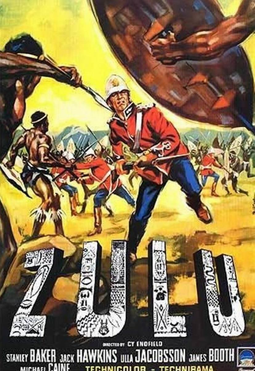 Zulu (1964) Italian poster