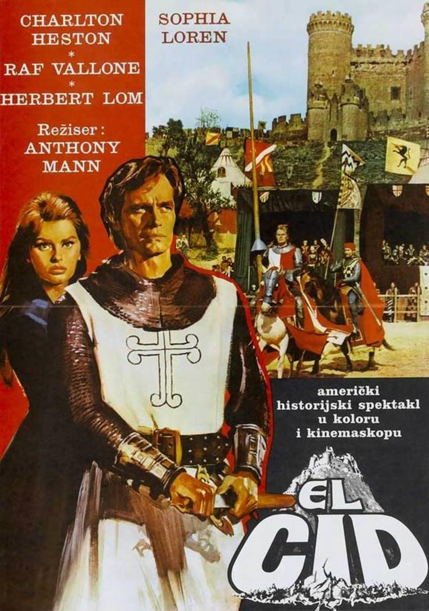 El Cid (1961) Yugoslavian poster