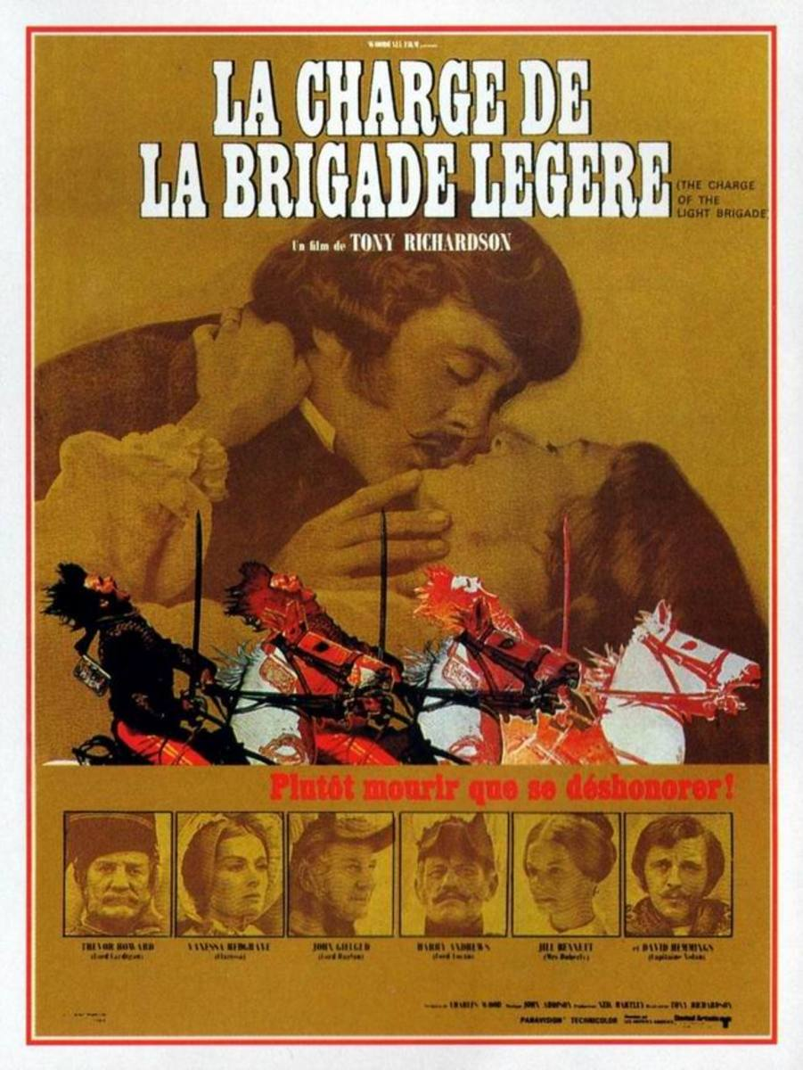 Charge of the Light Brigade (1968) French poster