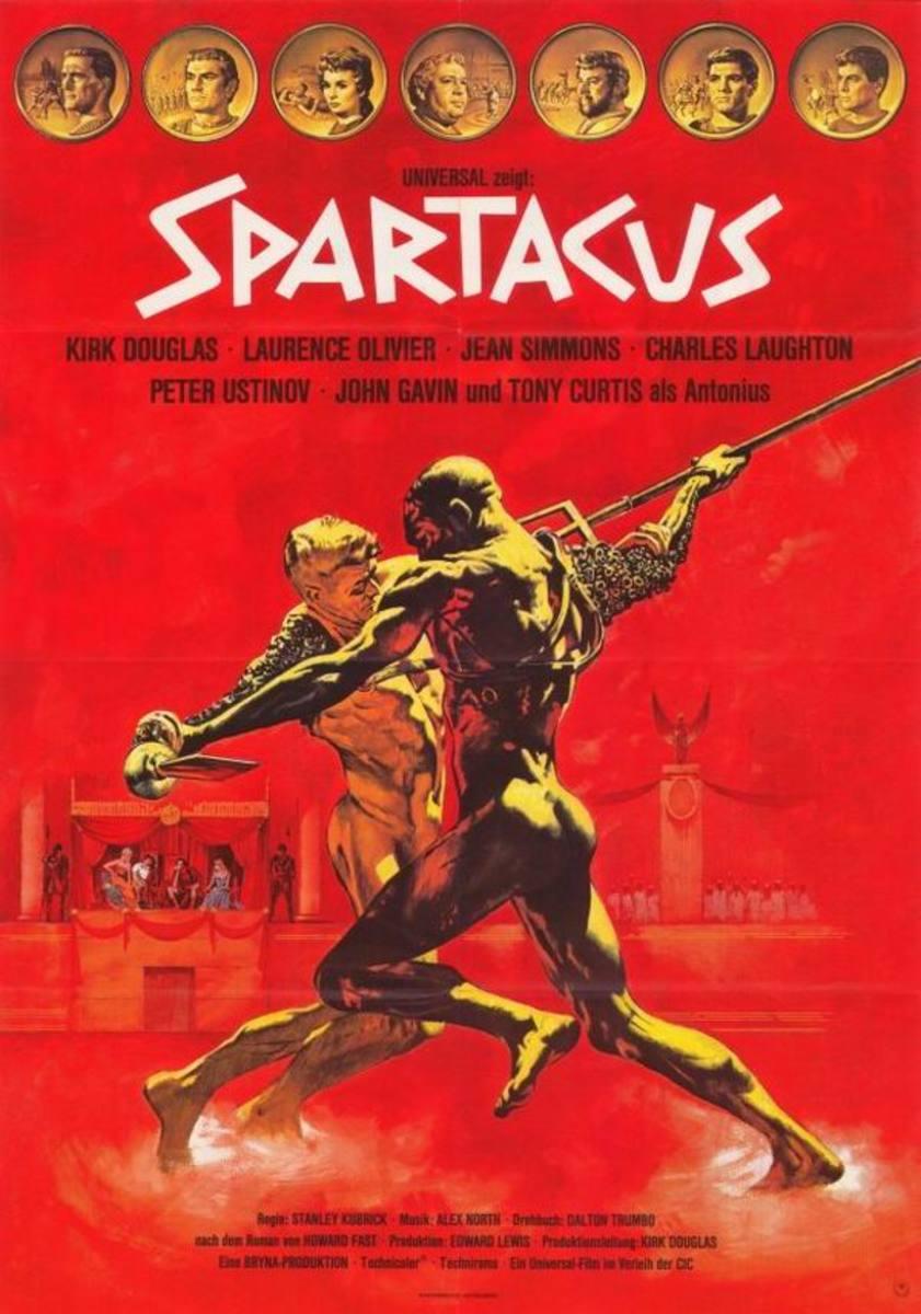 Spartacus (1960) German poster