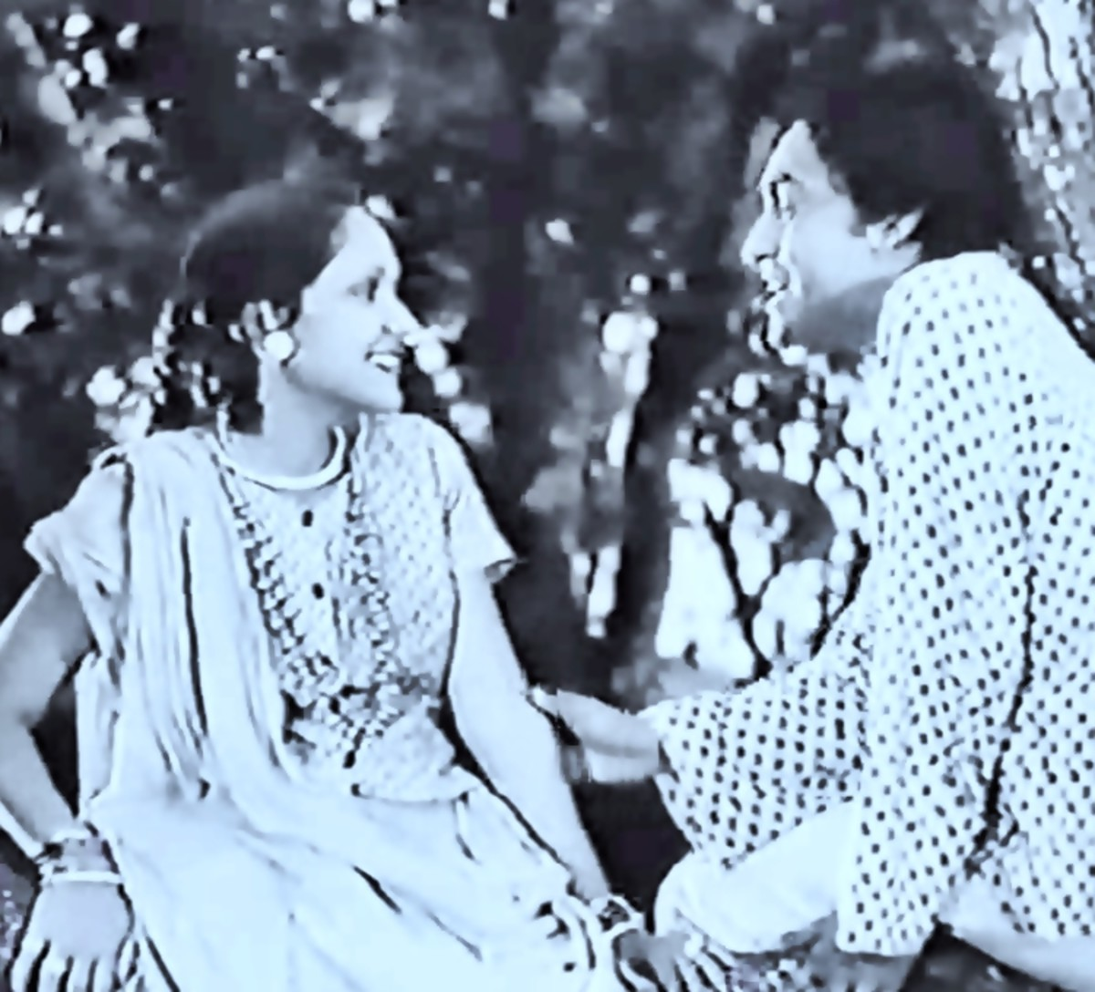 The first star couple on screen - 1937
