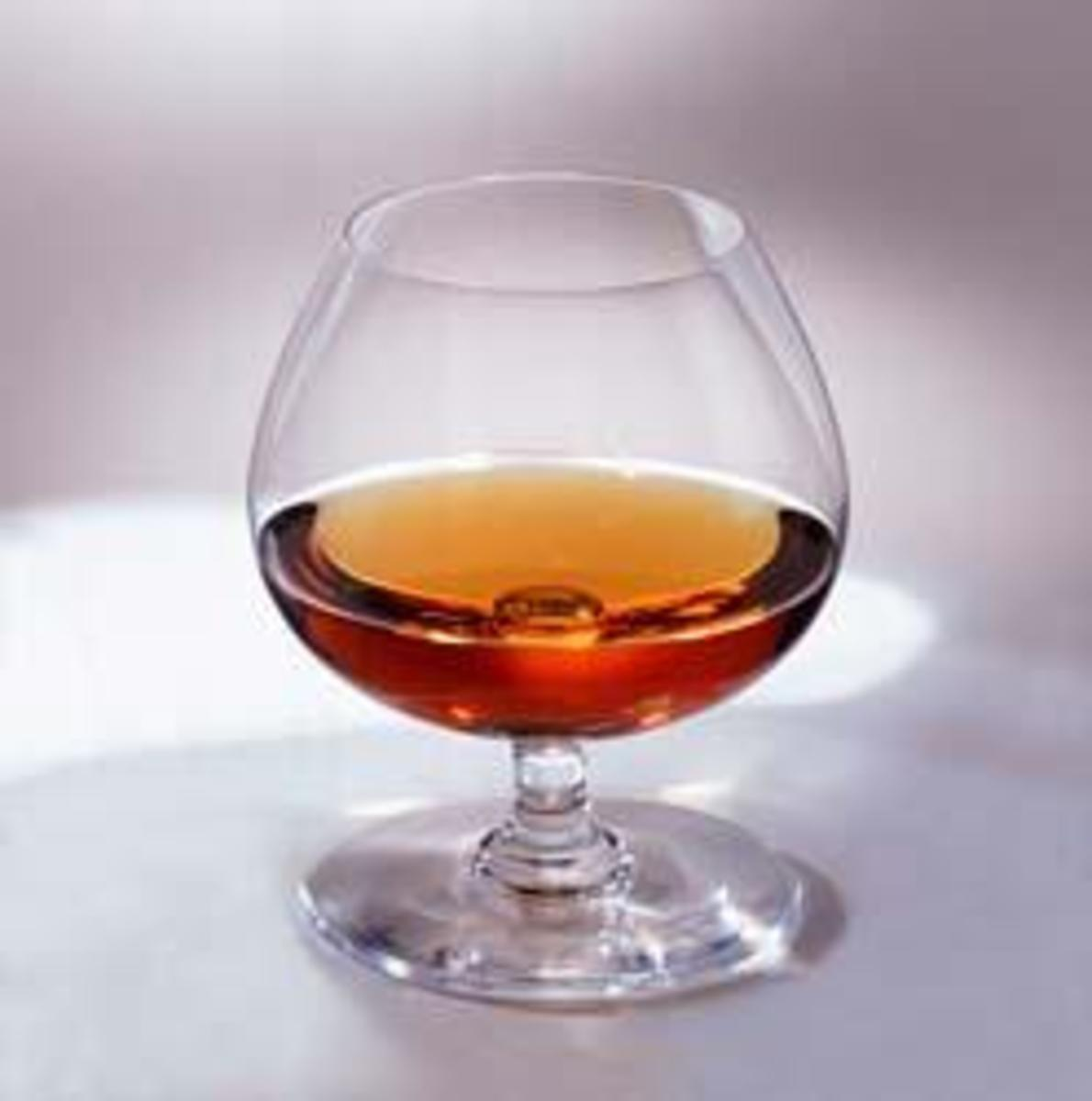 A snifter of Cognac