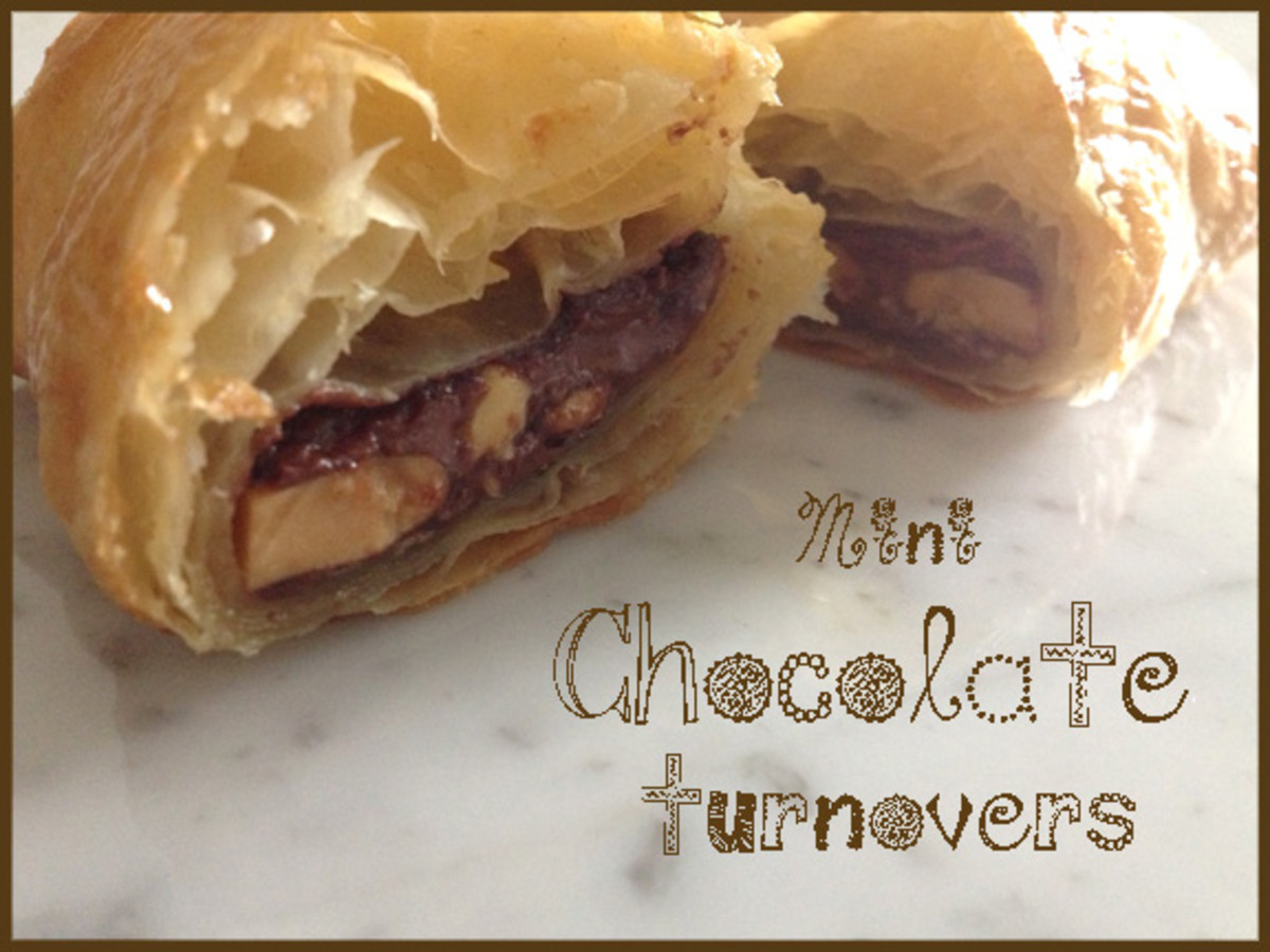 Mini Chocolate Turnovers