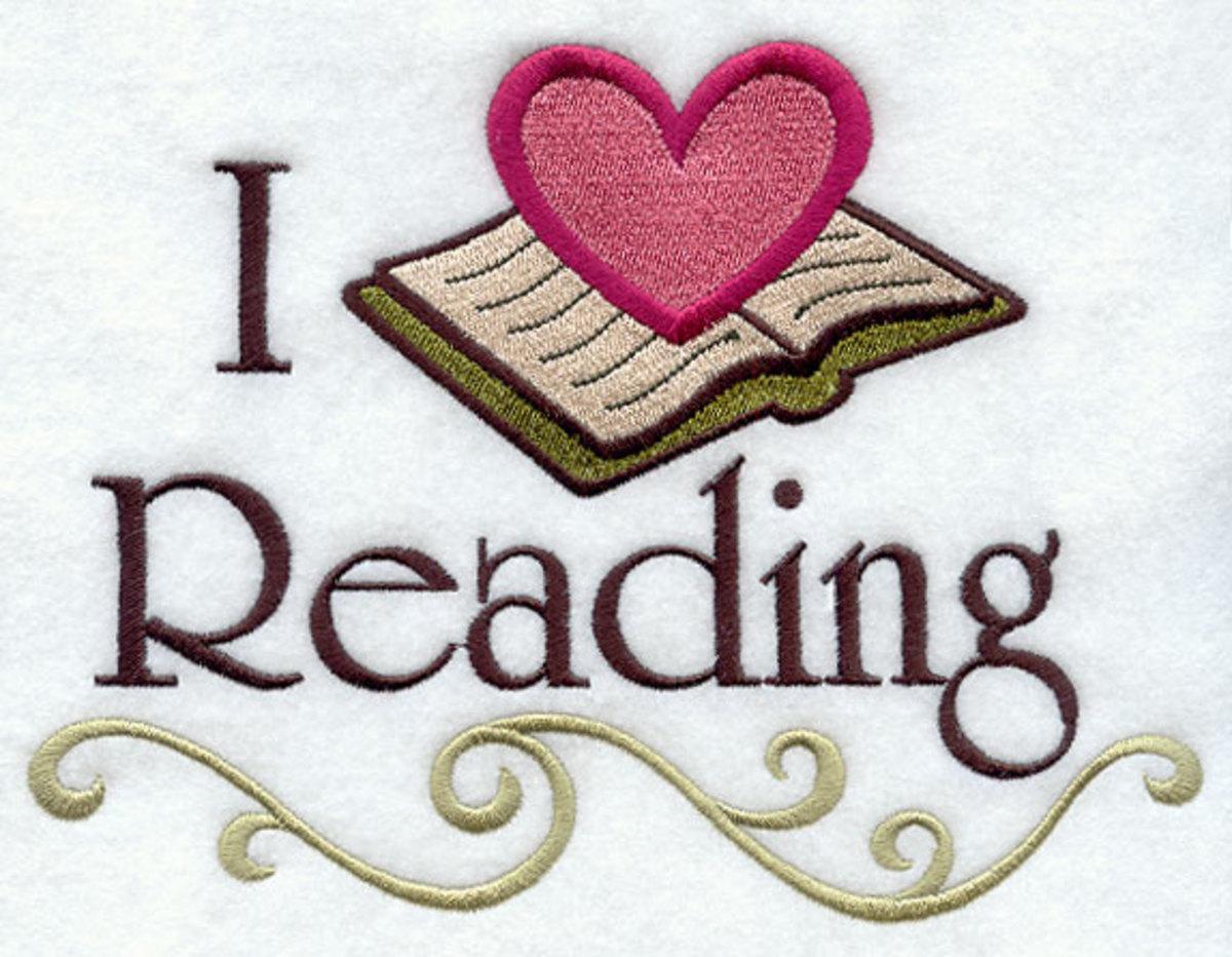 I  3 reading.