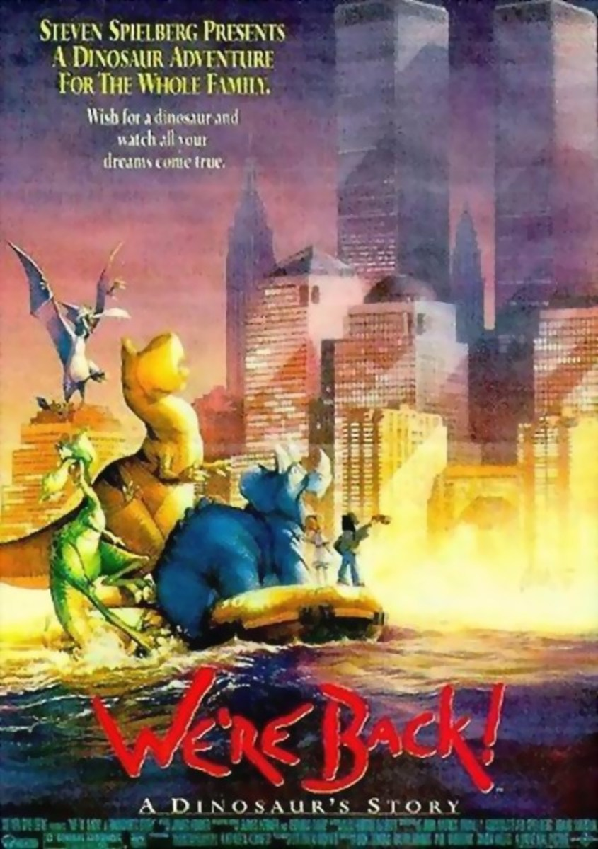 We're Back! A Dinosaur's Story (1993)