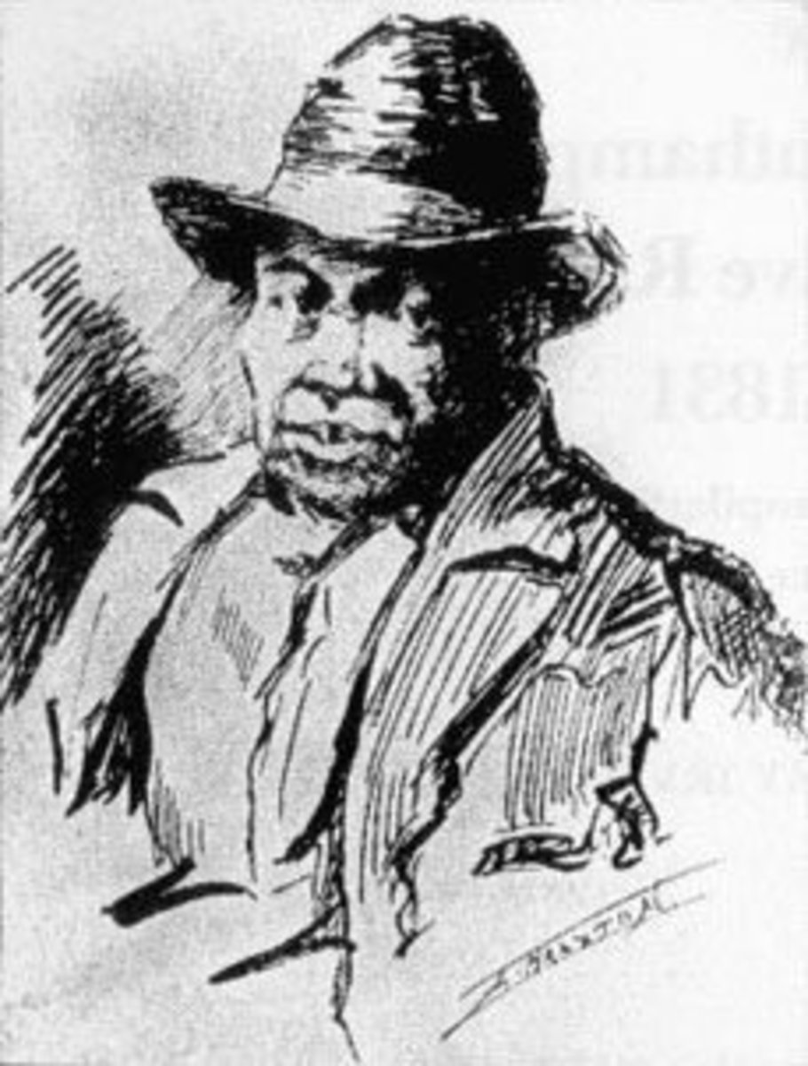 """Nat Turner: The leader of a slave insurrection in Virginia, known as the """"Southampton Insurrection"""", or more frequently, """"Nat Turner Rebellion."""""""