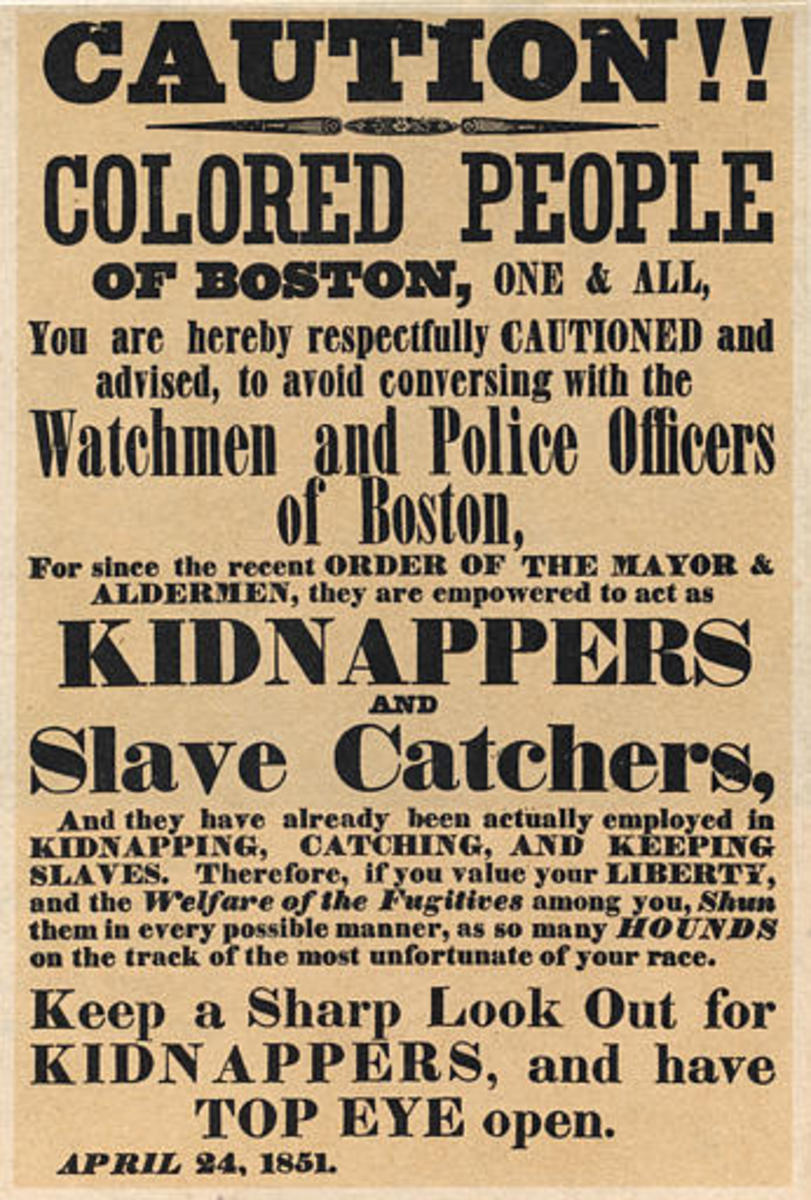 Boston inhabitants had successfully aided re-captured slaves in the past. In 1851, a group of black men snatched a fugitive slave from a courtroom and sent her to Canada. Anthony Burns would not share the same fate. Determined to see the Fugitive Sla