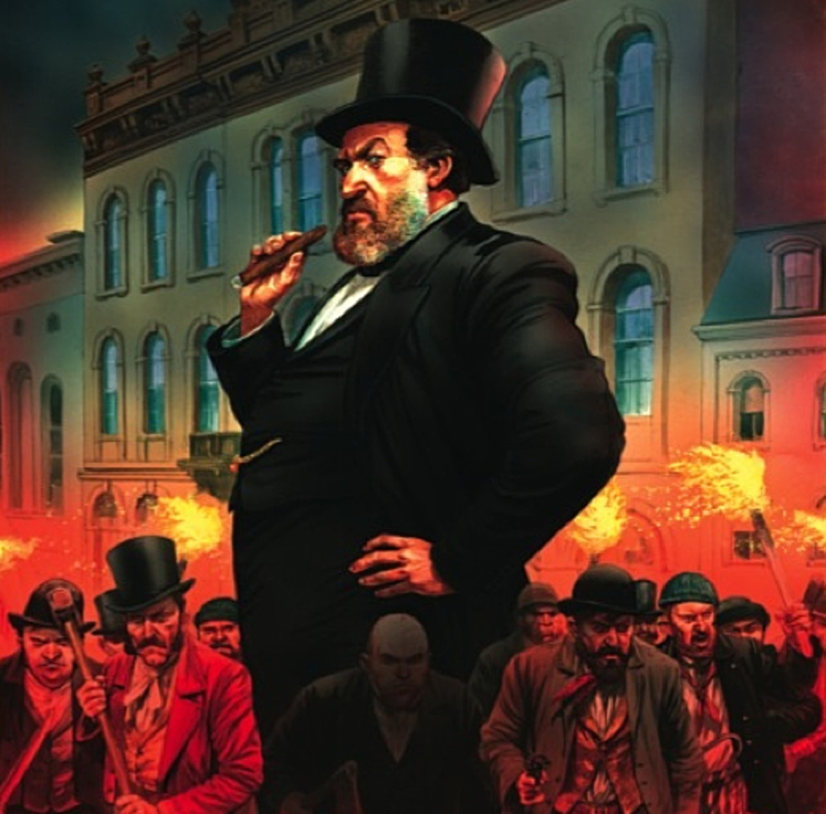 Mayor Hizzone -  New York's Tammany Hall, the home of the Democratic Party political machine that played a major role in the politics of 19th century New York City. Mayoral politics... what could possibly go wrong? Tasked with reviewing proposals to