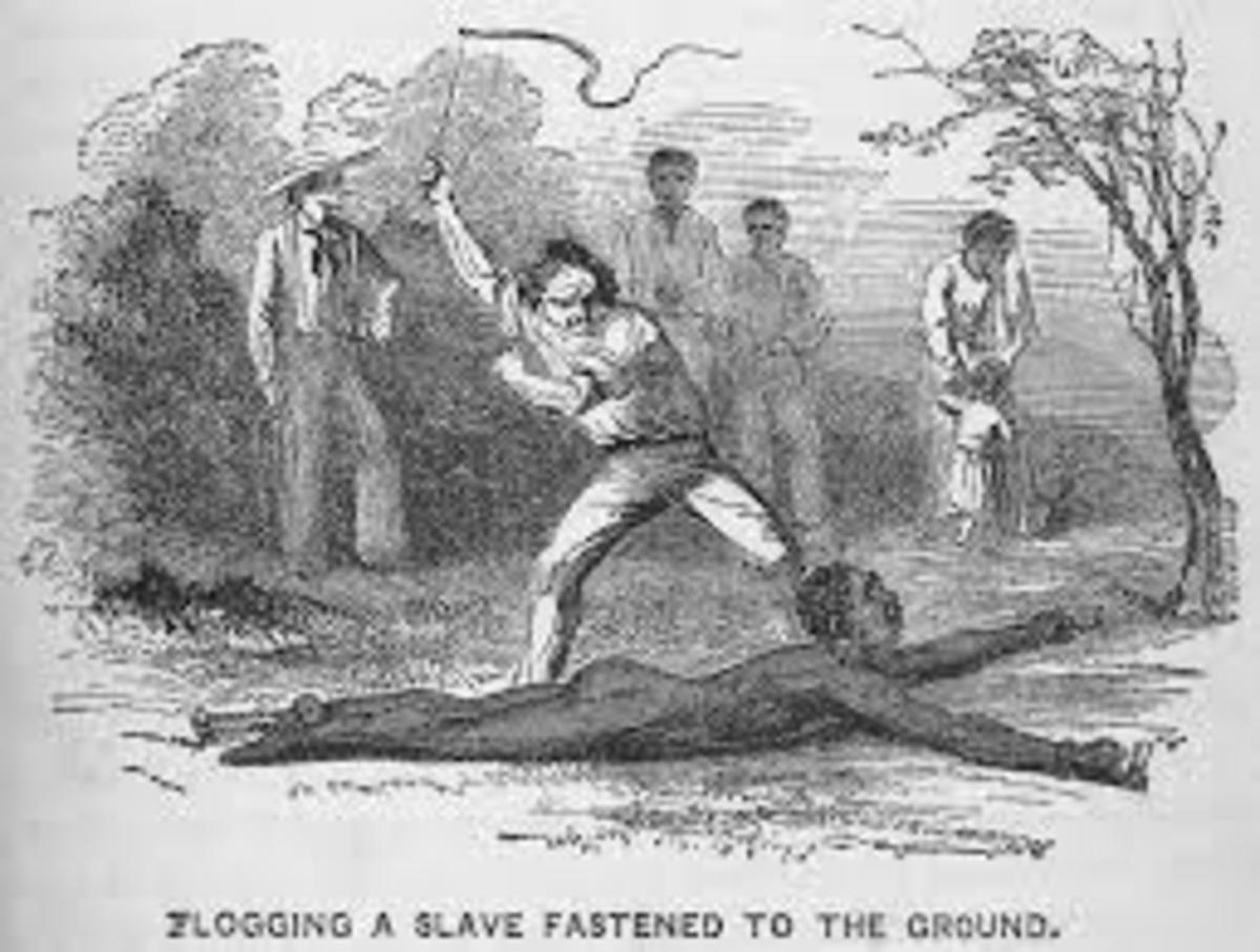 Artist's impression of what is being told by the Slave's narrative in the Hub