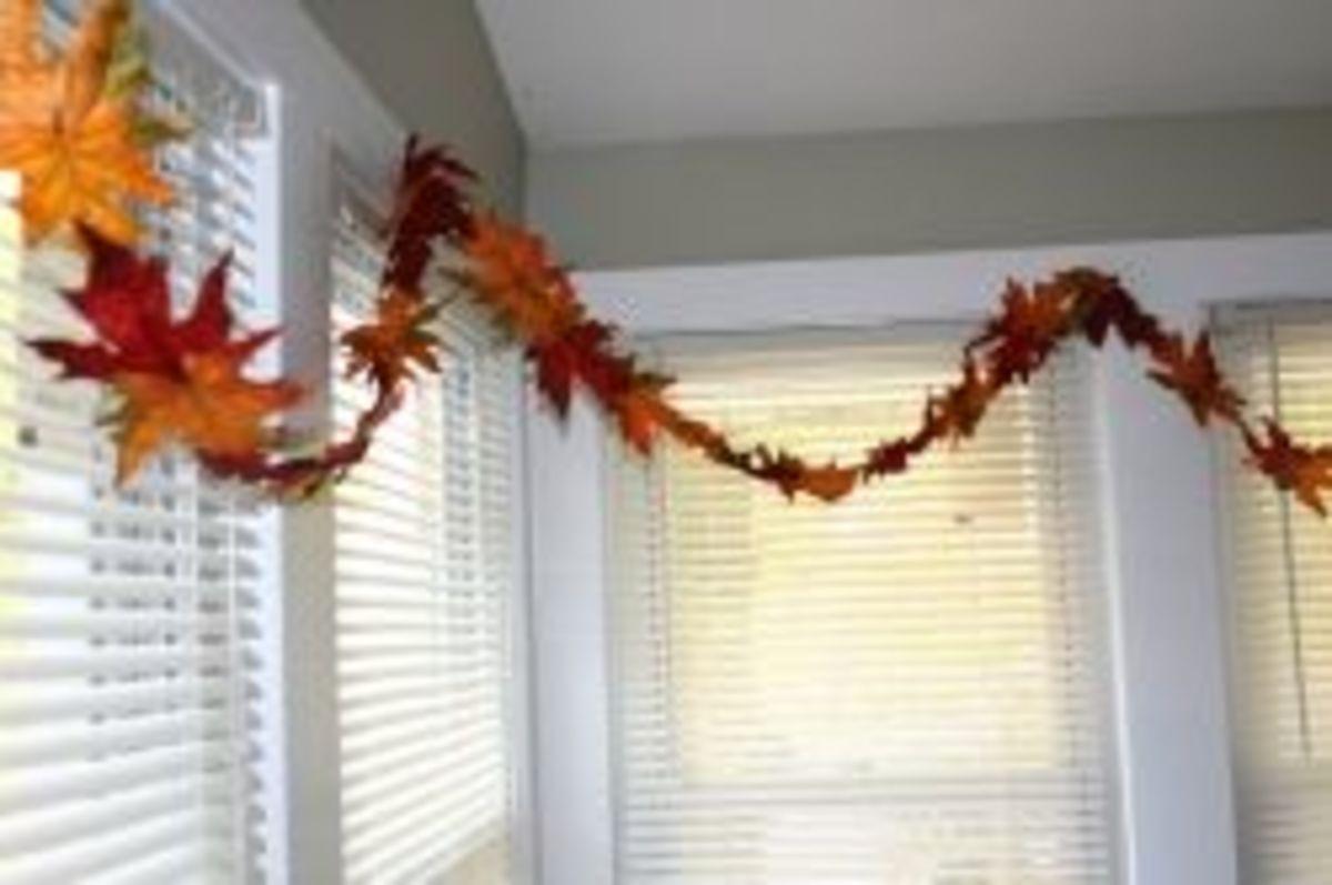 DIY Garland - Fall Leaves