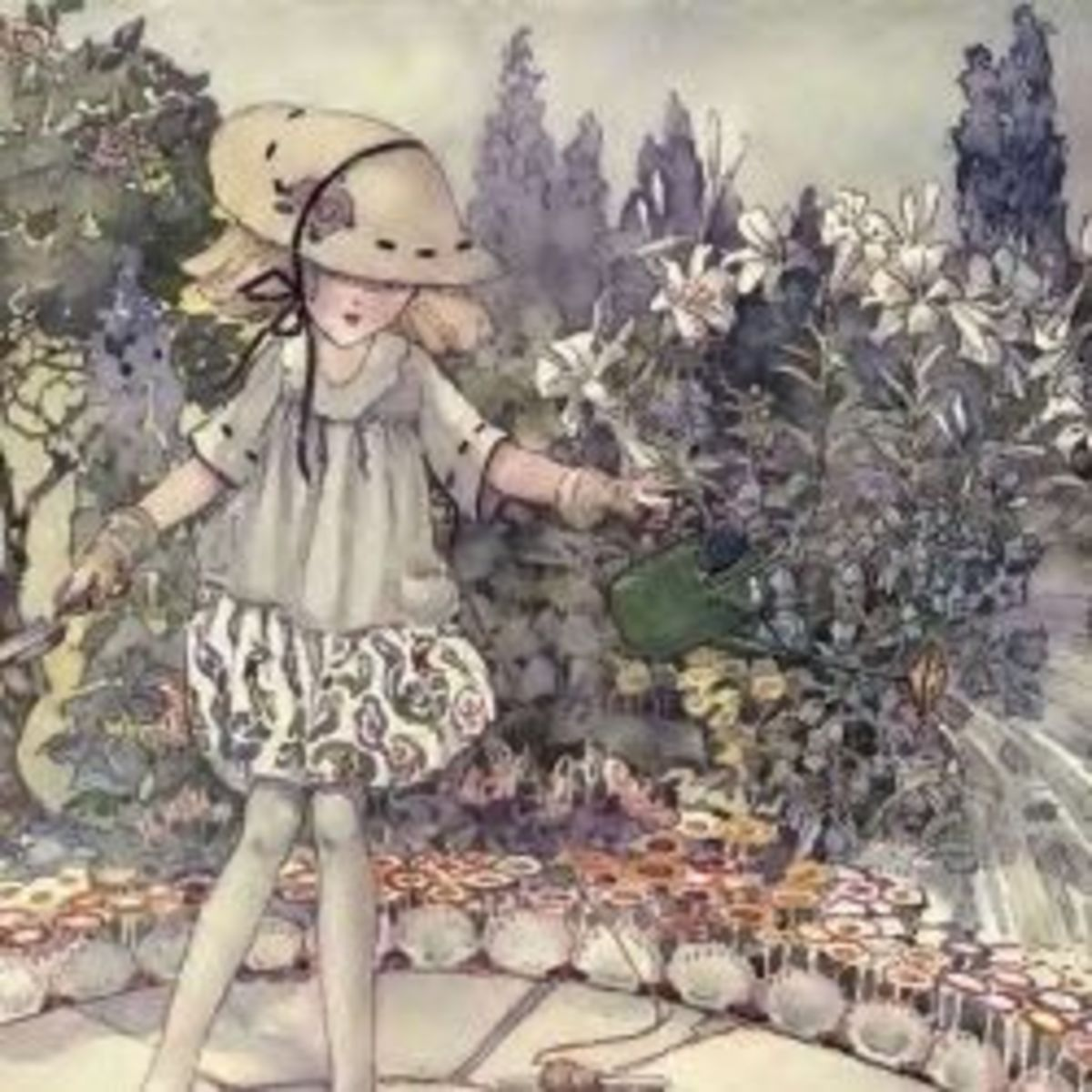 Anne Anderson, the illustrator: her personal tale, books, illustrations and fairy paintings