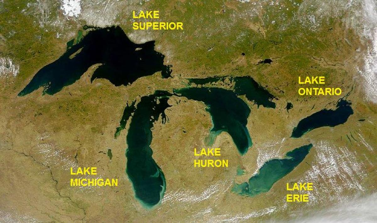 Facts and Trivia about North America's Great Lakes