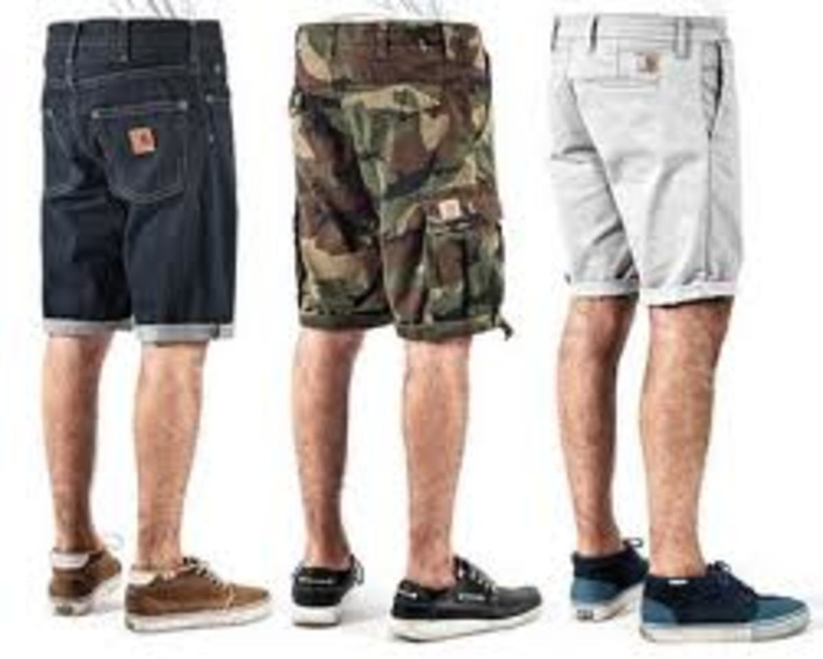 I went to buy camouflage shorts and couldn't find any!