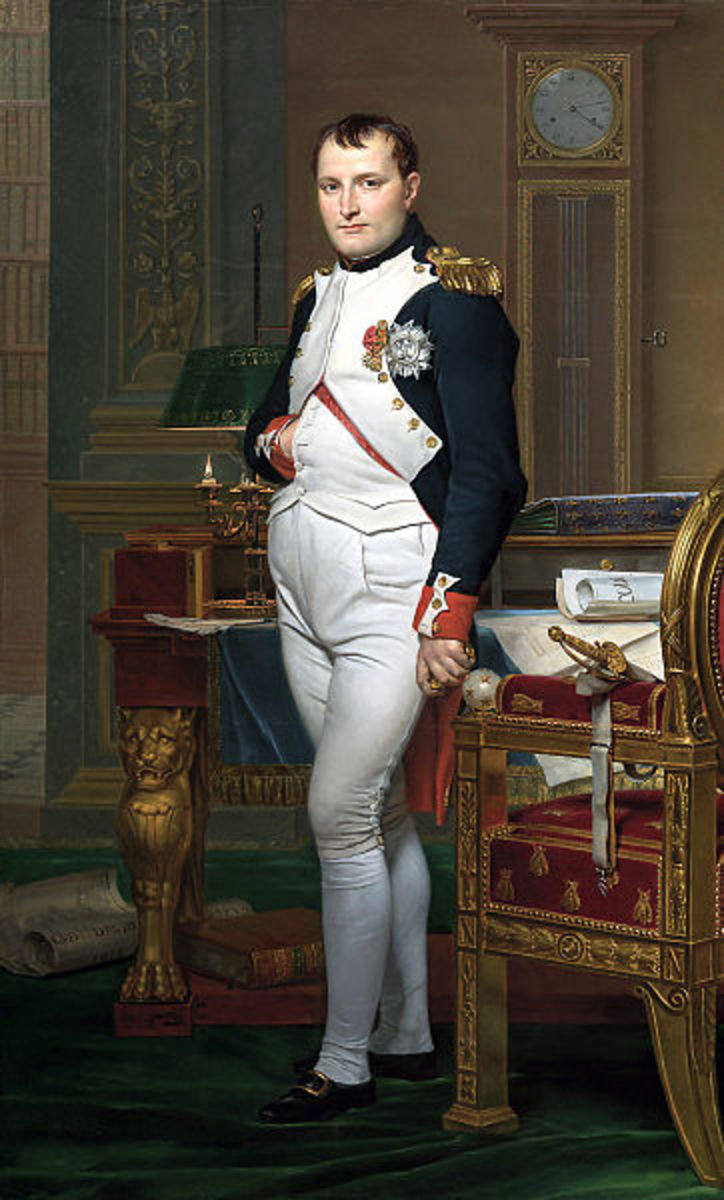 Napoleon Bonaparte, creator of the Grande Armee, the largest army ever seen. It was a true European army with more than a dozen European states represented.