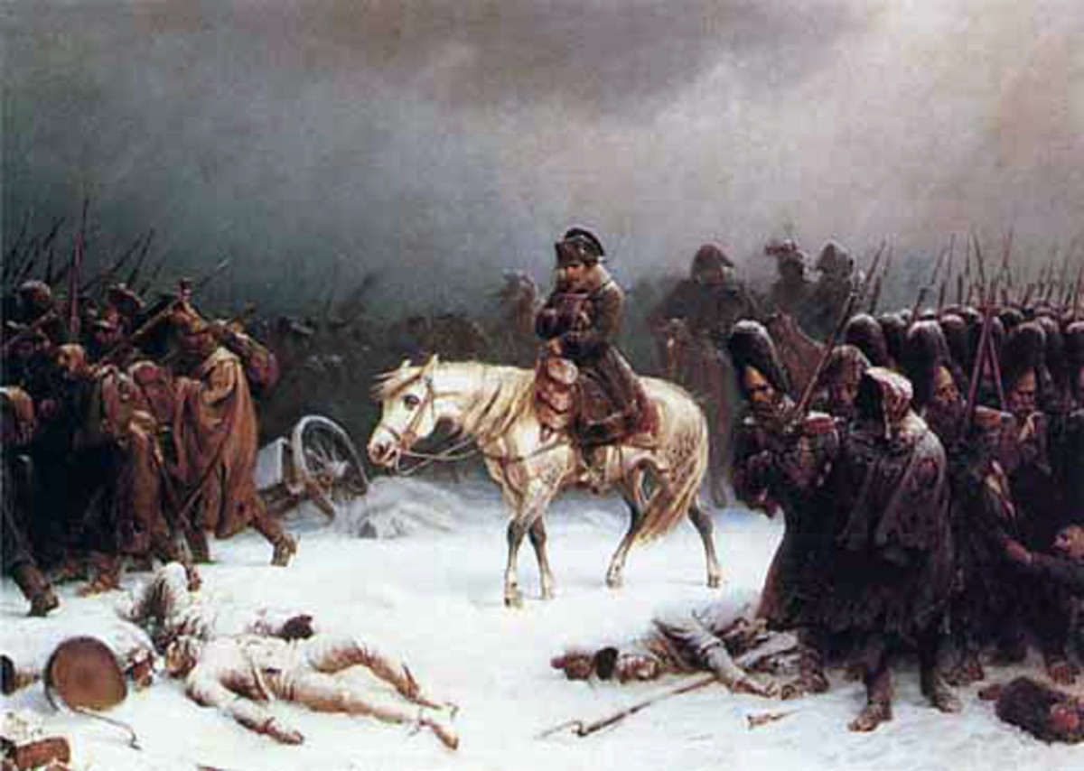 Napoleon Bonaparte invaded Russia with the largest army ever seen. But ultimately his dreams of conquest died, leaving him and his army with the gruelling task of retreating westwards in the depths of the winter.