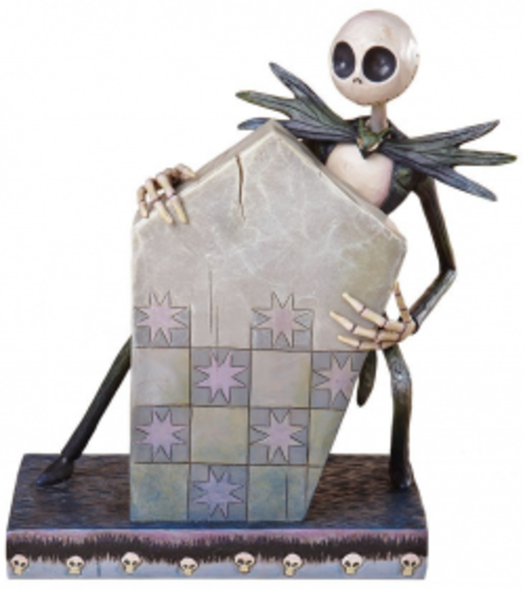 Disney Traditions by Jim Shore 4013977 The Nightmare Before Christmas Jack Skellington Figurine 7-1/2-Inch