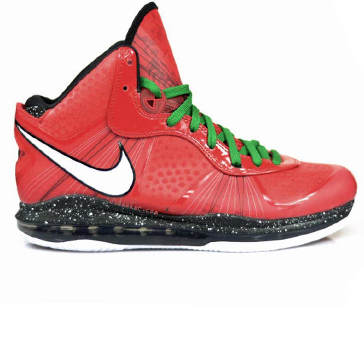 Red Nike Christmas Shoes