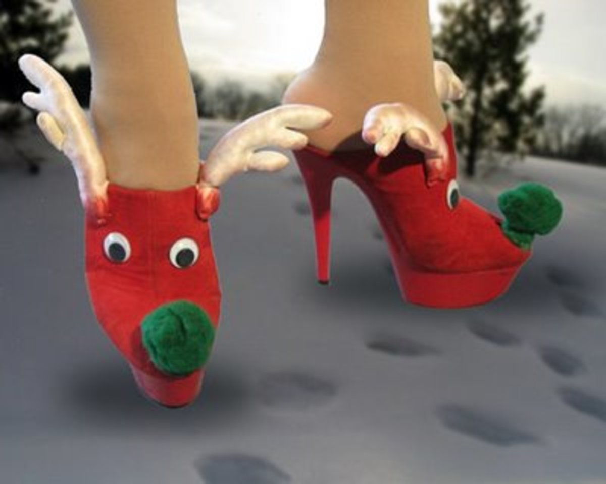 Reindeer Pumps