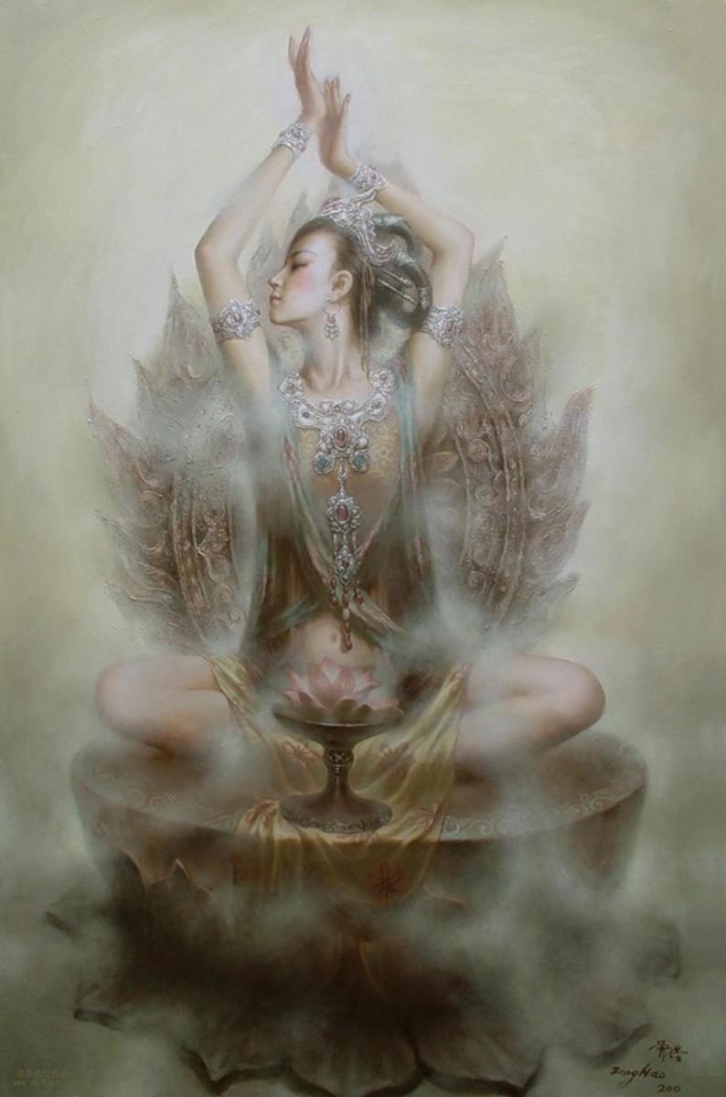 Meditative Bodhisattva
