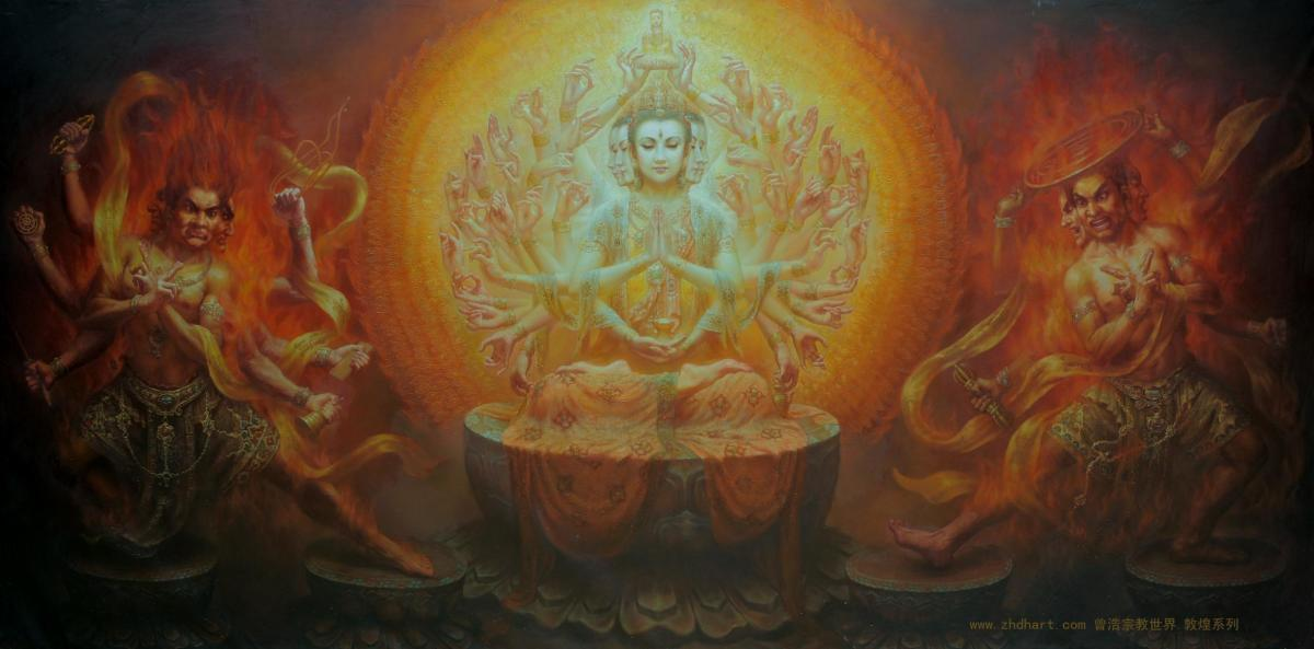 Thousand Arms Kuan Yin Bodhisattva (Prajna)