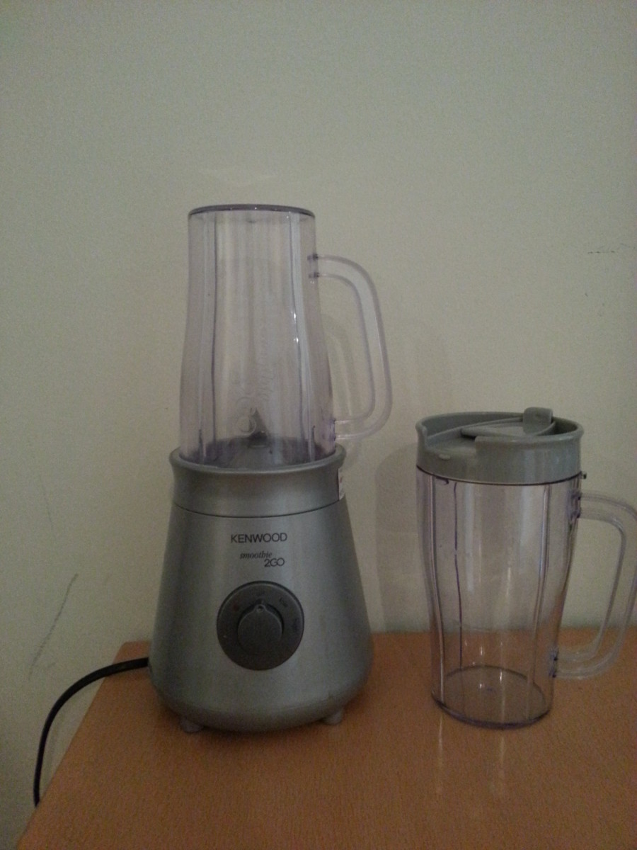Review of Smoothie Maker - Kenwood Smoothie 2go
