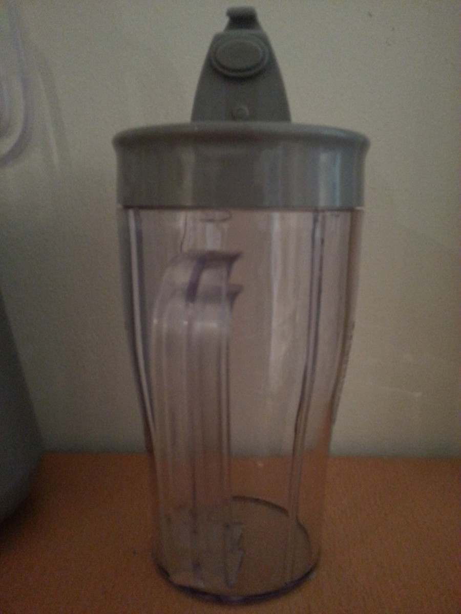 Travel Mug with lid open