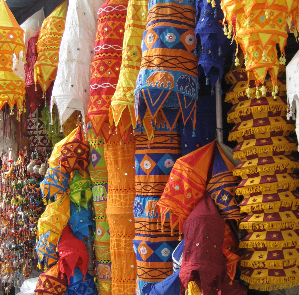 Handicraft shop on Janpath