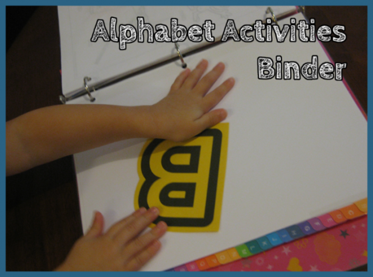 Alphabet Activities Binder Letter B