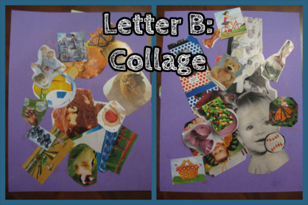 Letter B Collage
