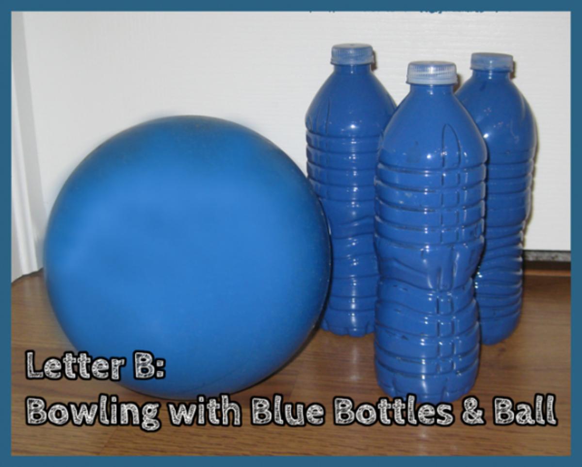 Letter B Bowling