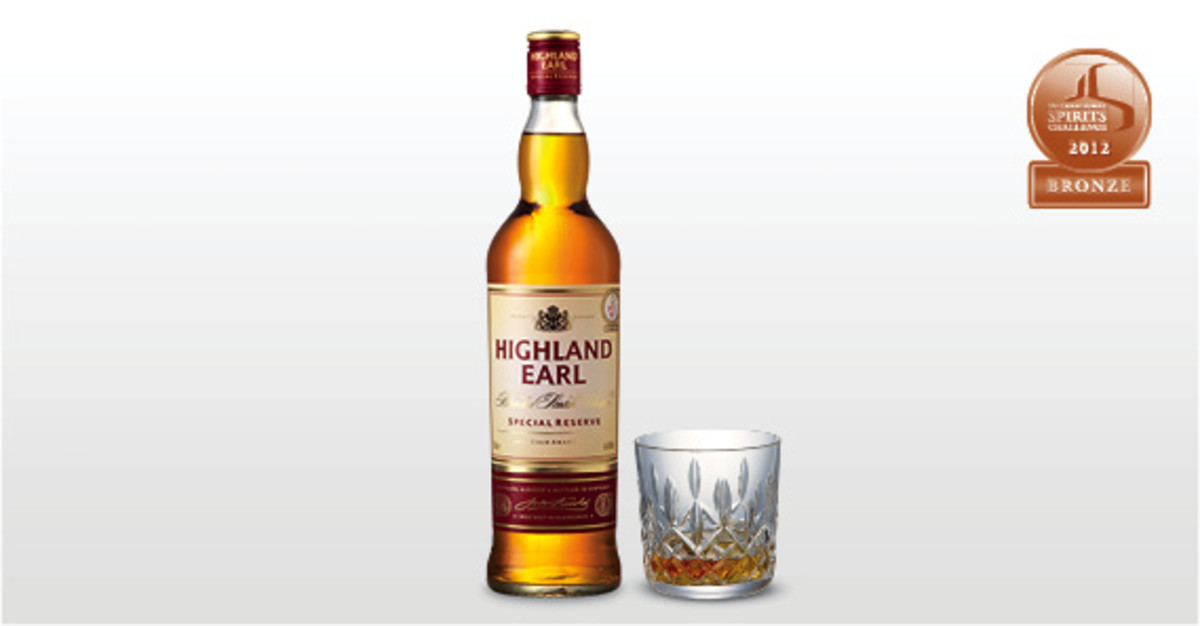 Aldi Highland Earl Whisky.