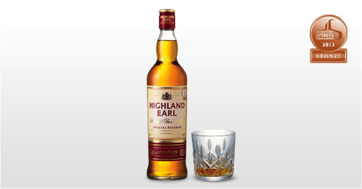 Aldi Highland Earl Whisky.