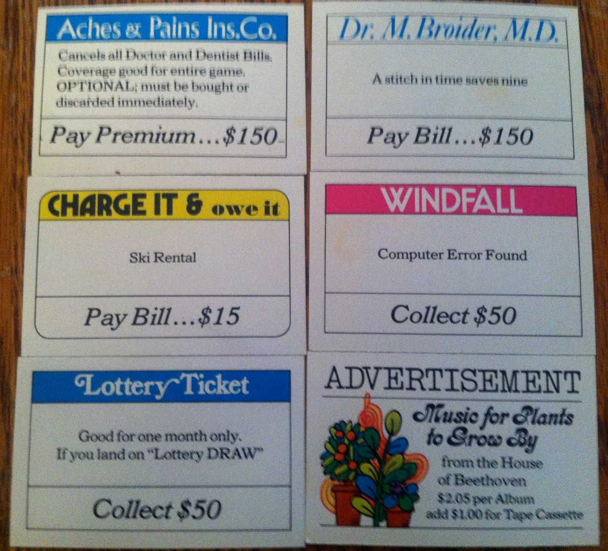 Mail that can be received in Payday, which can contain bills, insurance, or even junk mail.
