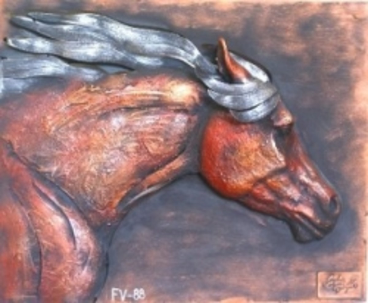 Horse Room Decor: Wall Decor & Horse Statues