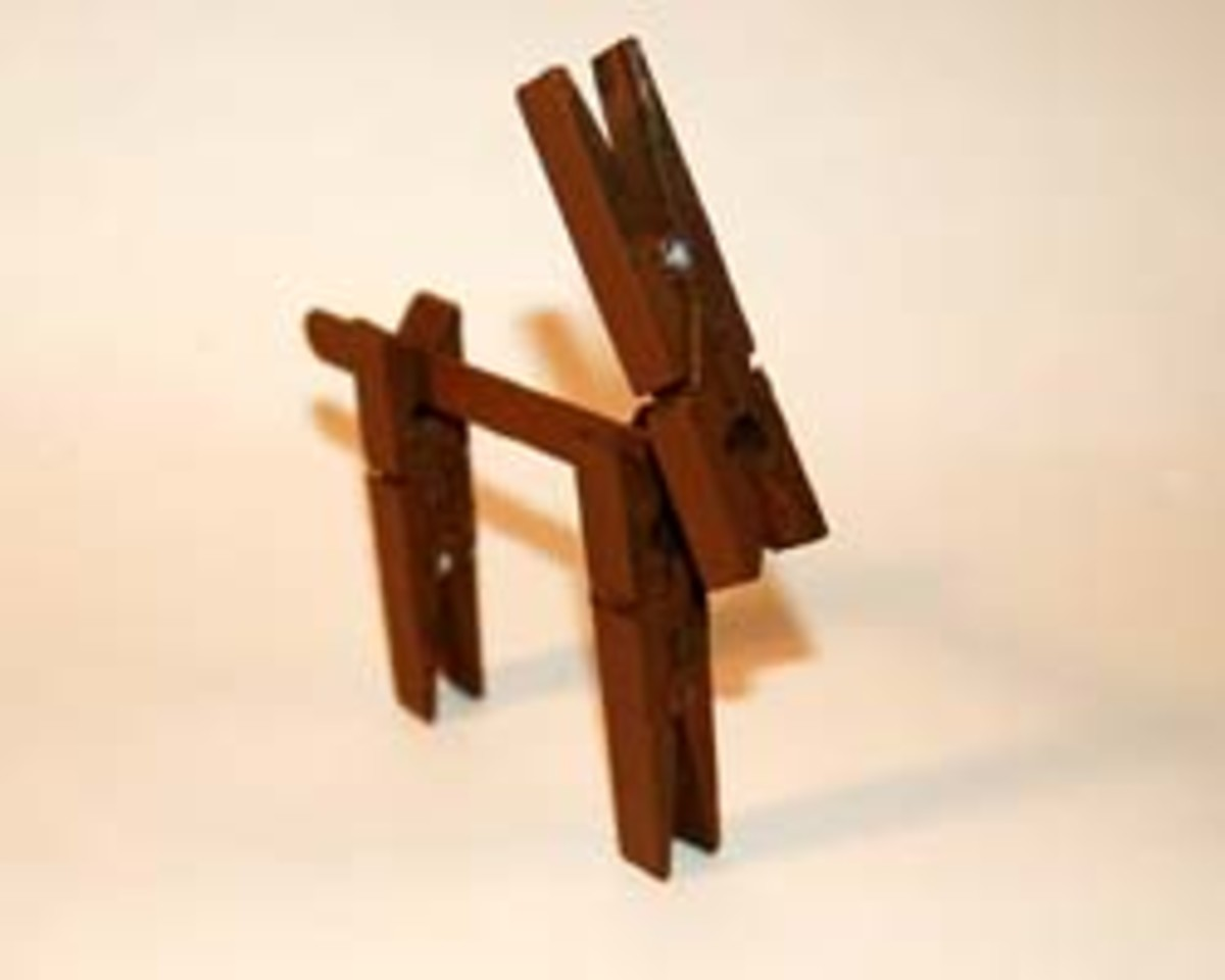 clothespin reindeer craft and easy reindeer crafts for children hubpages 1329