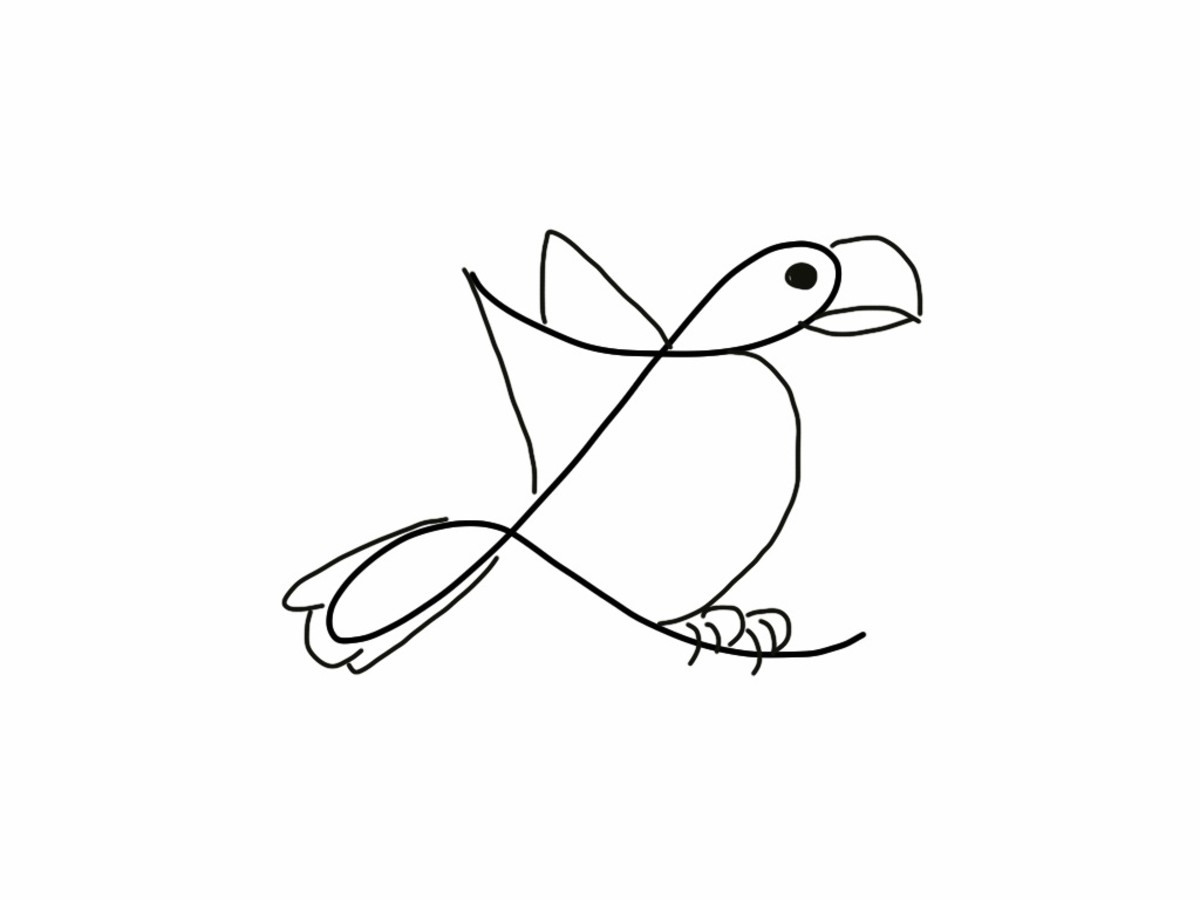 how-to-turn-a-cursive-l-into-a-bird-drawing