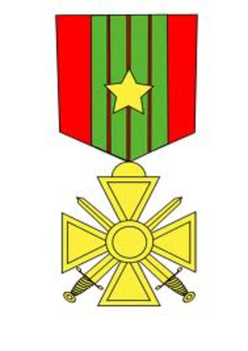 French Croix de Guerre 1939-1945 avec Etoile