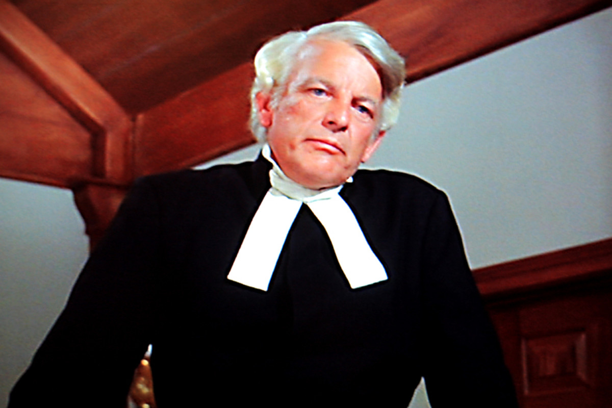 Denver Pyle as Pastor Bjoerling
