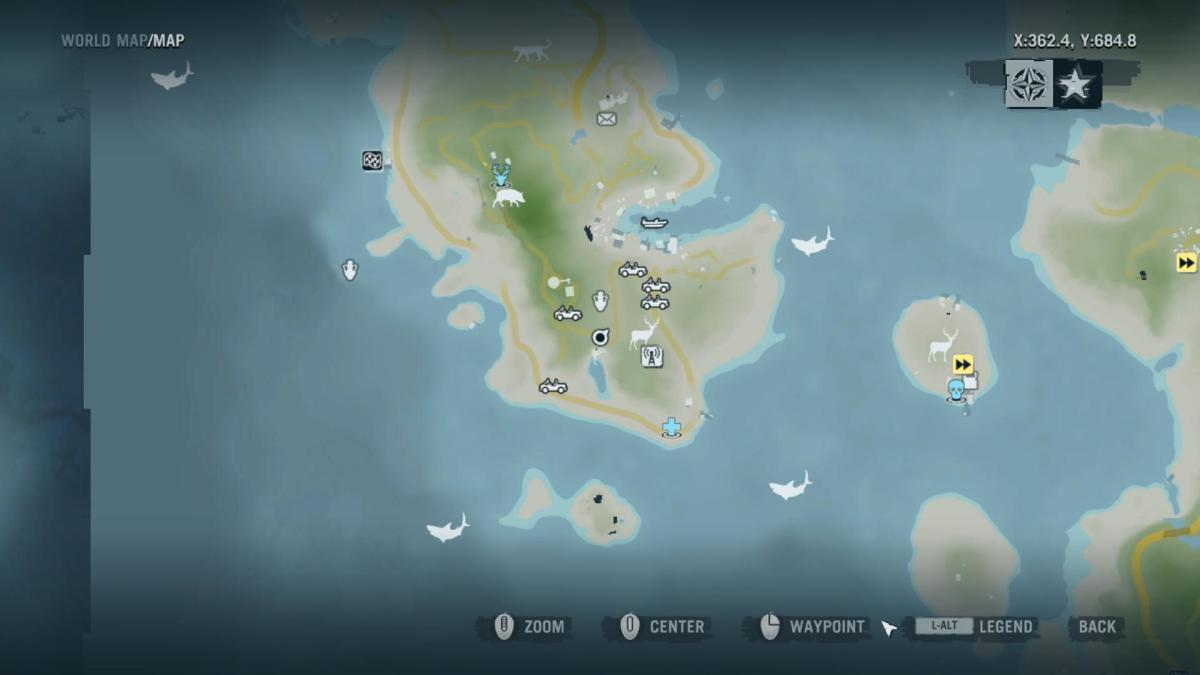 Archaeology 101 - Gameplay 02 Map: Far Cry 3 Relic 22, Spider 22.