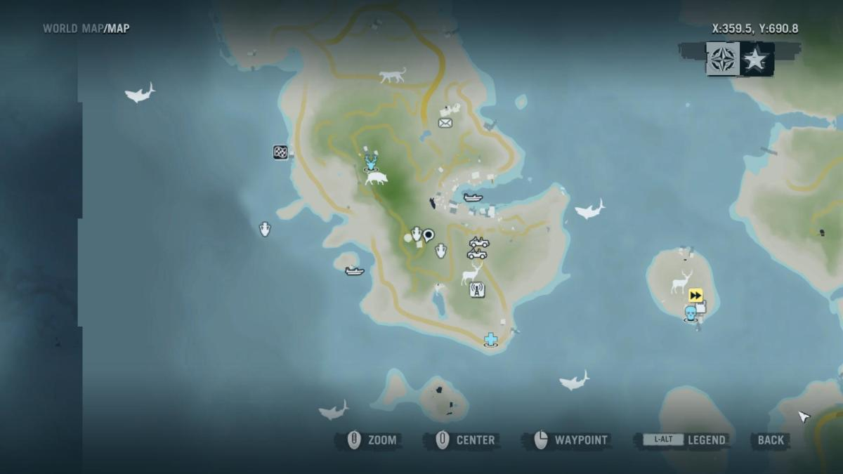 Archaeology 101 - Gameplay 02 Map: Far Cry 3 Relic 112, Heron 22.