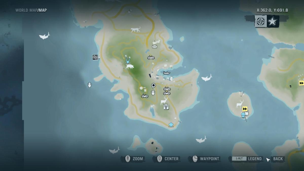 Archaeology 101 - Gameplay 03 Map: Far Cry 3 Relic 22, Spider 22.