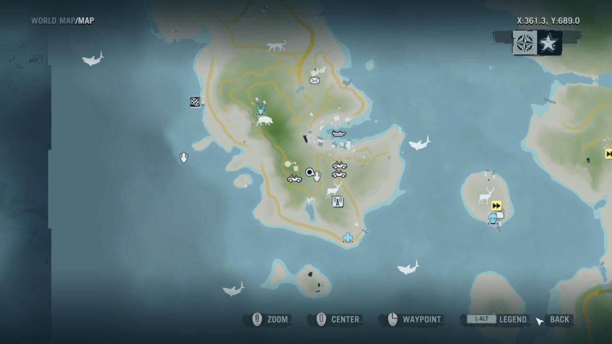 Archaeology 101 - Gameplay 04 Map: Far Cry 3 Relic 22, Spider 22.