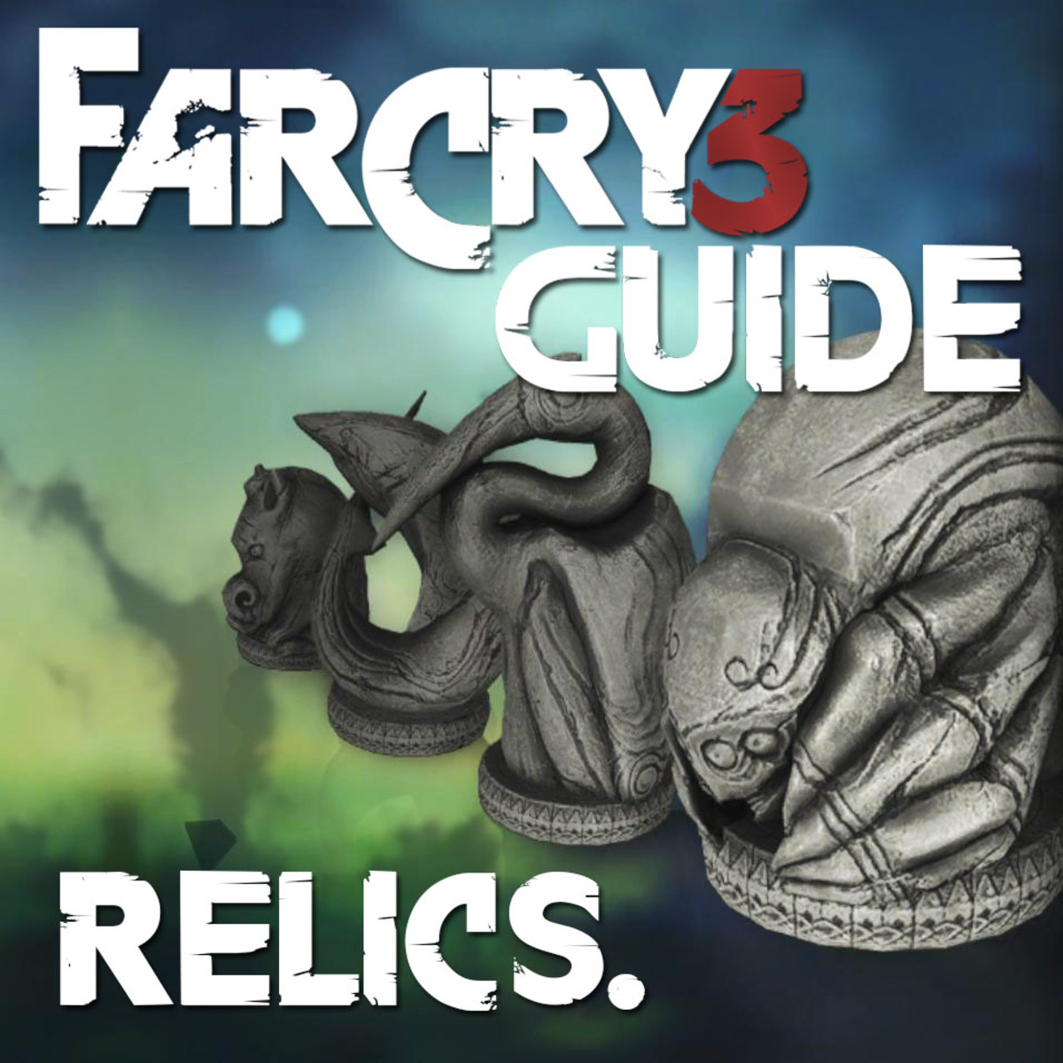 Far Cry 3  Relics Locations Guide - Archaeology 101.