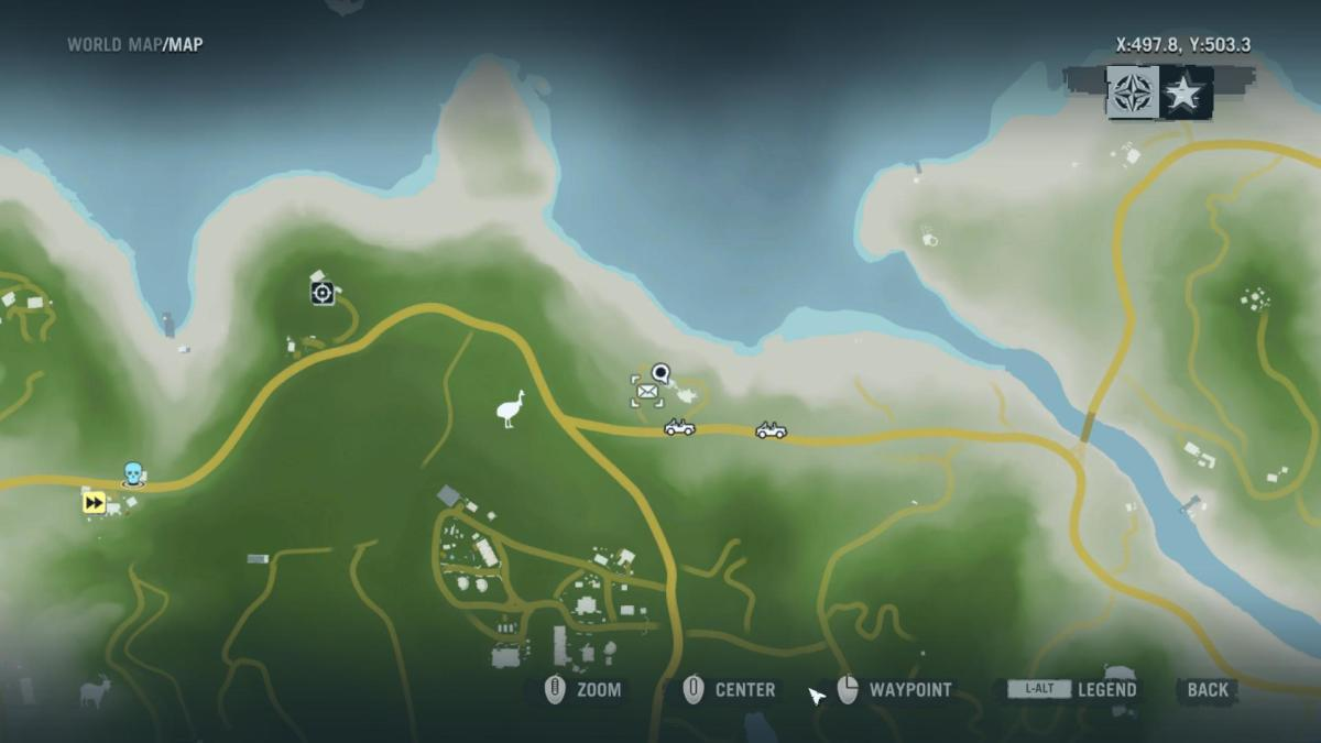 Gameplay 02 Map: Far Cry 3 Letters of the Lost #20, Hurk's Fourth Letter.