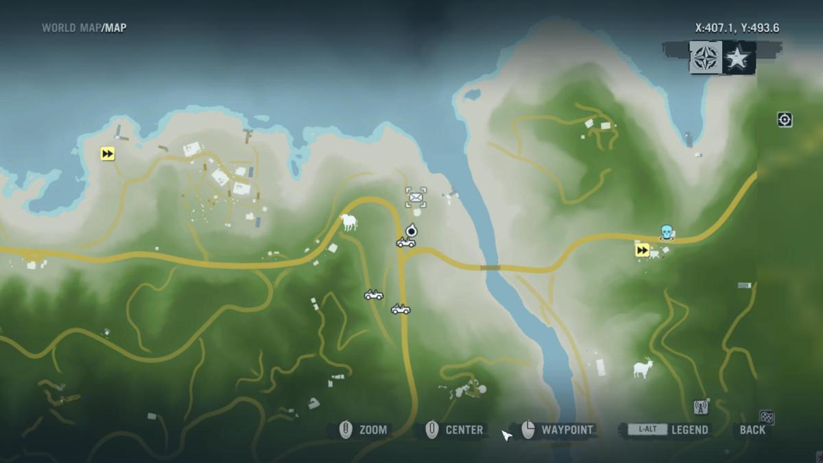 Gameplay 01 Map: Far Cry 3 Letters of the Lost #17, Hurk's First Letter.