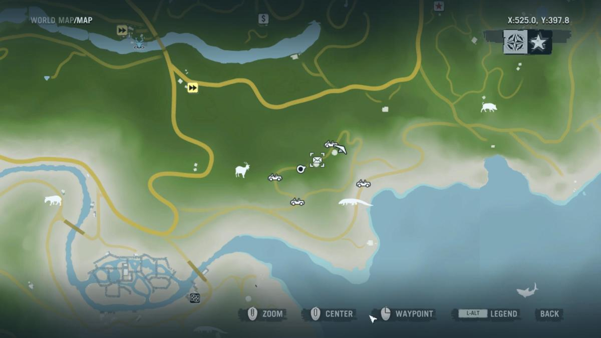 Gameplay 01 Map: Far Cry 3 Letters of the Lost #16, Masahiro's Letter.